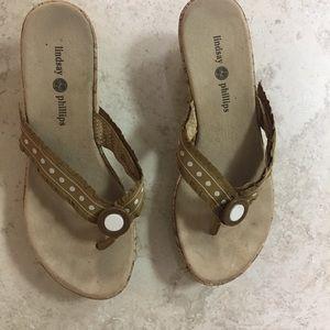 Lindsay Phillips Cork Sandals